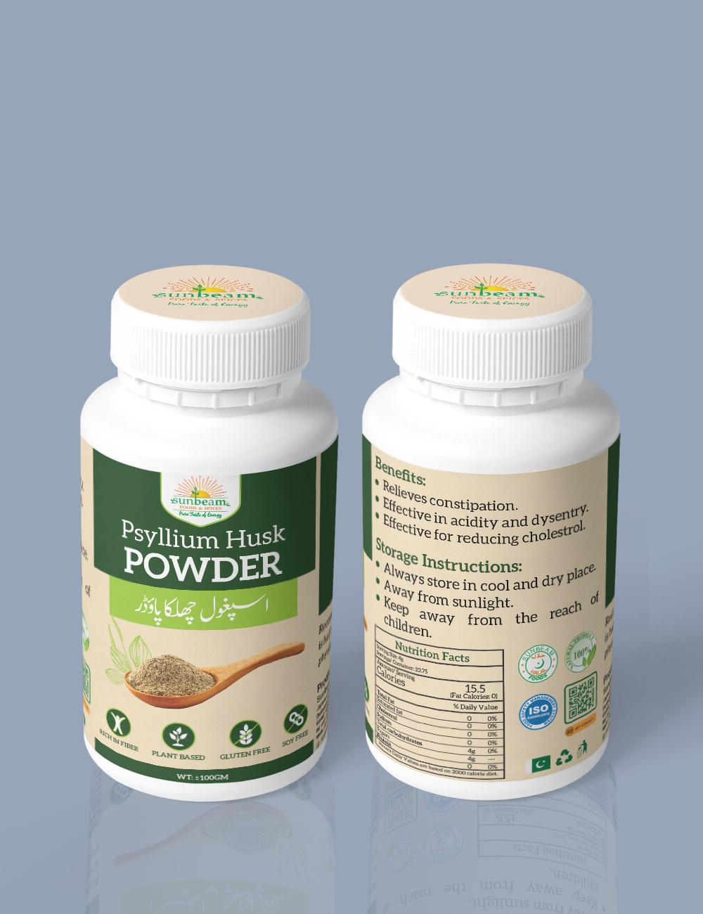 Psyllium Husk Powder – Ispaghol Powder