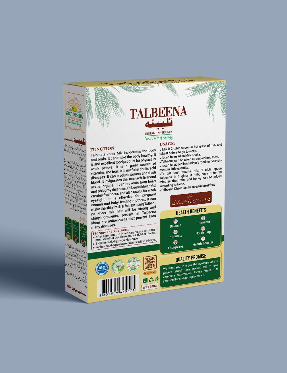 Talbeena Vanilla